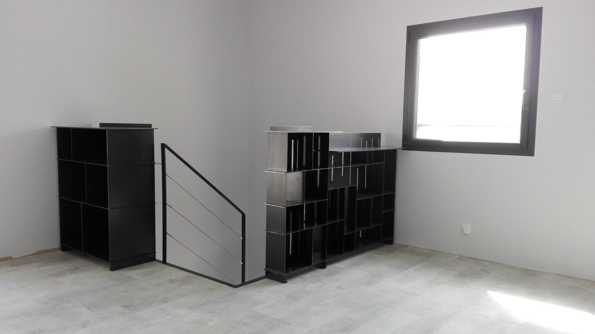 meuble garde corps meuble sur mesure pas cher meuble sur mesure pas cher pour plan de interieur. Black Bedroom Furniture Sets. Home Design Ideas
